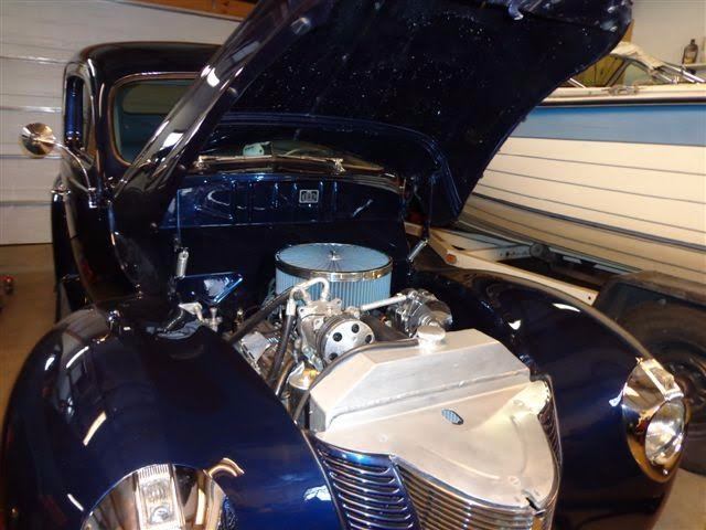 Used 1940 Ford Deluxe - MIDNIGHT BLUE WITH GHOST FLAMES- | Mundelein, IL