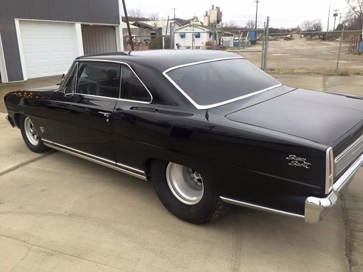 Used 1966 Chevrolet Nova - WELL BUILT CUSTOM PRO STREET CLASSIC - SEE VIDEO | Mundelein, IL
