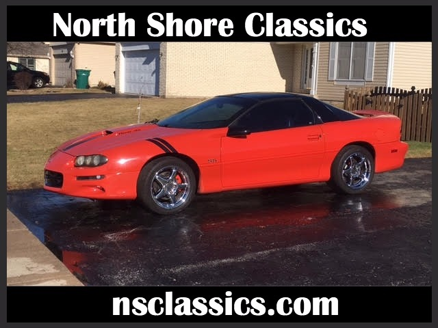 Used 1999 Chevrolet Camaro - RARE LS1 HUGGER ORANGE CAMARO SS WITH T-TOPS- | Mundelein, IL