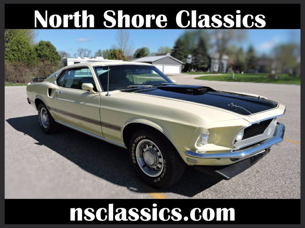 1969 Ford Mustang - 351 MACH 1 FASTBACK- FMX AUTOMATIC