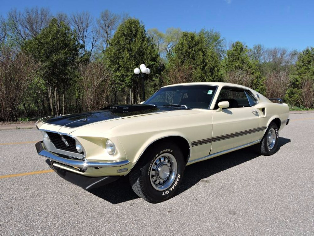 Used 1969 Ford Mustang - 351 MACH 1 FASTBACK- FMX AUTOMATIC -MARTI REPORT -REAL DEAL!   Mundelein, IL
