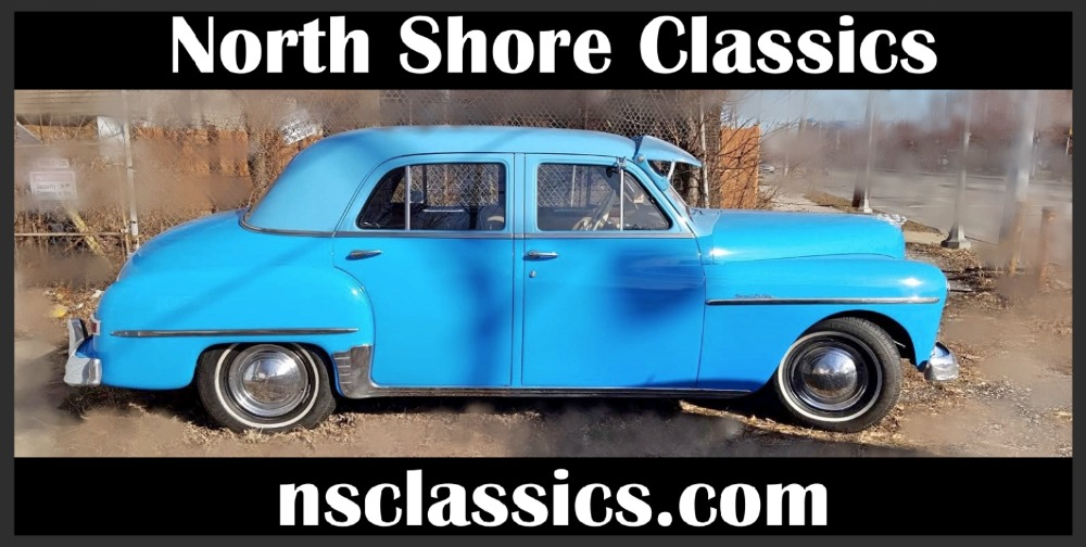 1950 Plymouth Special Deluxe -GREAT QUALITY CLASSIC- BLUE BOMB Stock ...