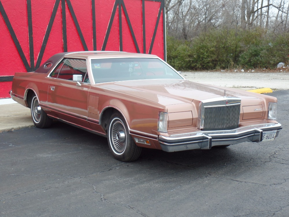 Used 1979 Lincoln Continental - MARK V - CLASSIC ORIGINAL CRUISER - SEE VIDEO | Mundelein, IL