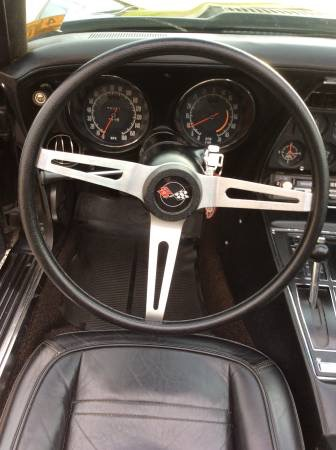 Used 1973 Chevrolet Corvette -Numbers Matching L48 Black Convertible- | Mundelein, IL