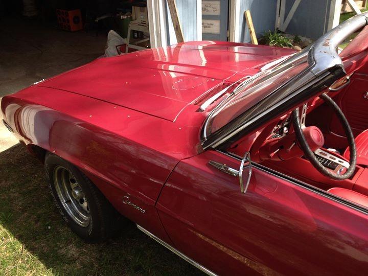 Used 1969 Chevrolet Camaro CONVERTIBLE - CLASSIC 400 V8 4BBL- | Mundelein, IL