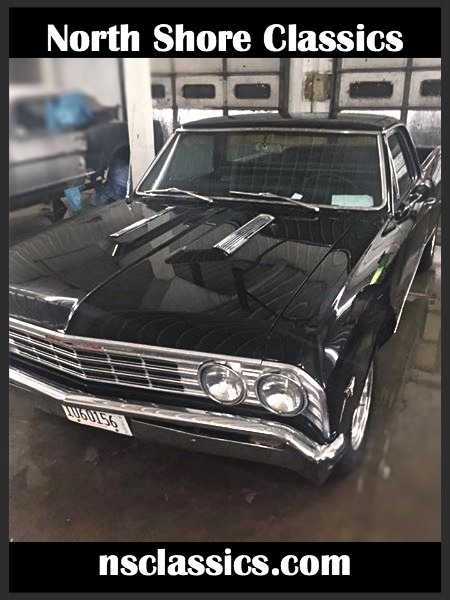 1967 Chevrolet El Camino - FRESH 454 BORED 30 OVER- Stock # 185454IL
