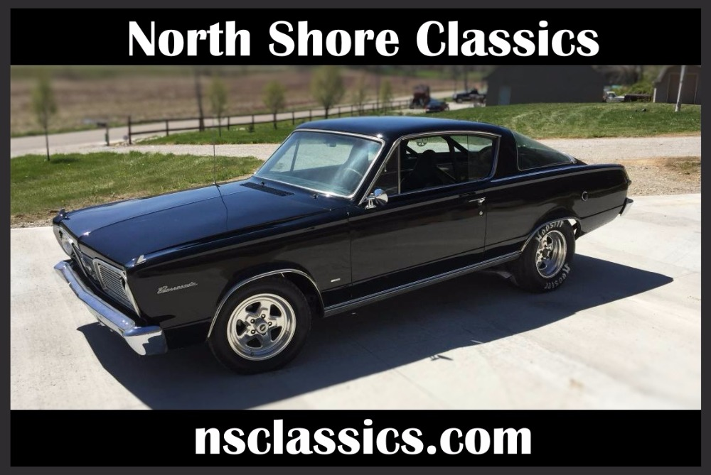 Used 1966 Plymouth Barracuda / Cuda 349 BORED OVER 60 WITH A 400 CRANKSHAFT- | Mundelein, IL