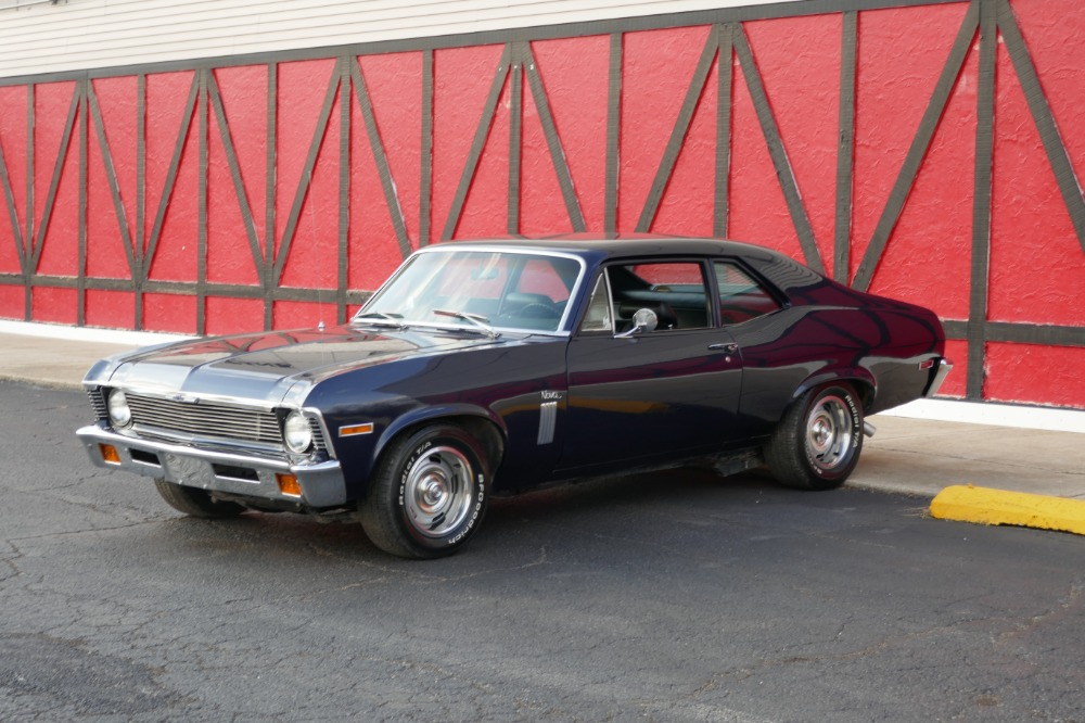 Used 1972 Chevrolet Nova - NEW MIDNIGHT BLUE - 454 V8 MUSCLE- SEE VIDEO | Mundelein, IL