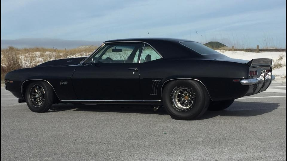 1969 Chevrolet Camaro - TWIN TURBO SBC- BLACK ON BLACK