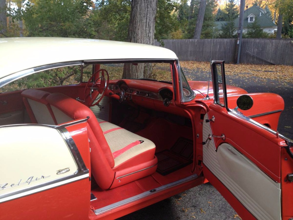 Used 1955 Chevrolet Bel Air -265 V8  MANUAL TRANS HARDTOP- | Mundelein, IL