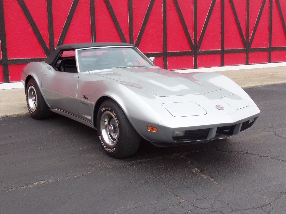 Used 1974 Chevrolet Corvette CONVERTIBLE - 350 V8 AUTOMATIC TRANS- SEE VIDEO | Mundelein, IL