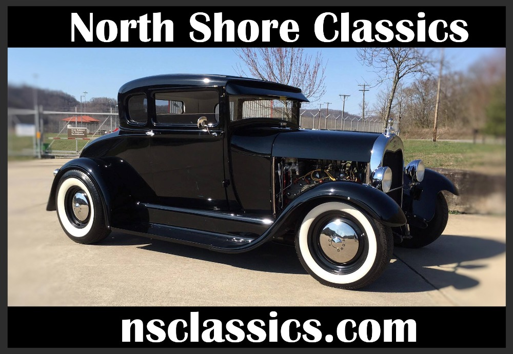 1929 Ford Model A - ALL STEEL SHOW WINNING- STROKED V8 FLATHEAD ...