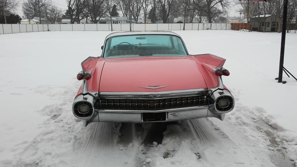 Used 1959 Cadillac Series 62 -ORIGINAL 390 V8 WITH CUSTOM PINK PAINT AND INTERIOR - | Mundelein, IL