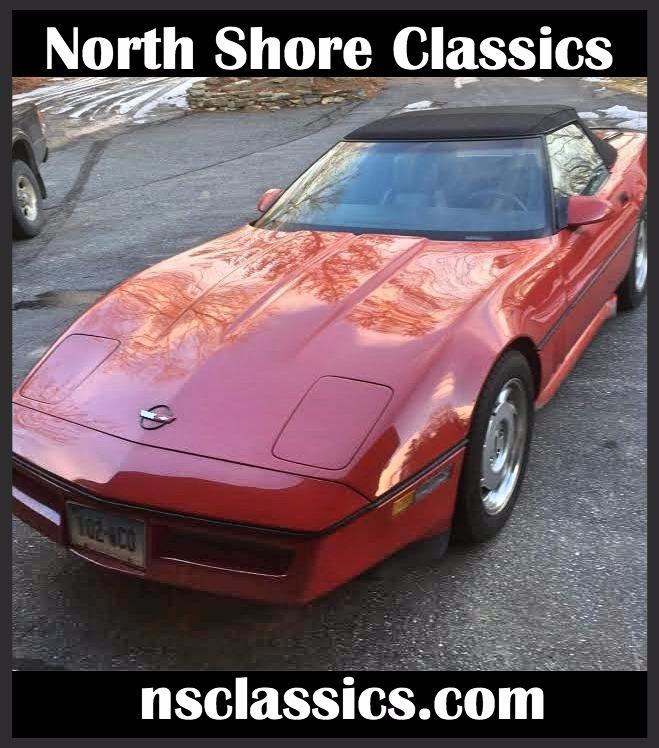 Used 1986 Chevrolet Corvette - 350 V8 -DOUG NASH 4-SPEED MANUAL WITH OVERDRIVE- | Mundelein, IL