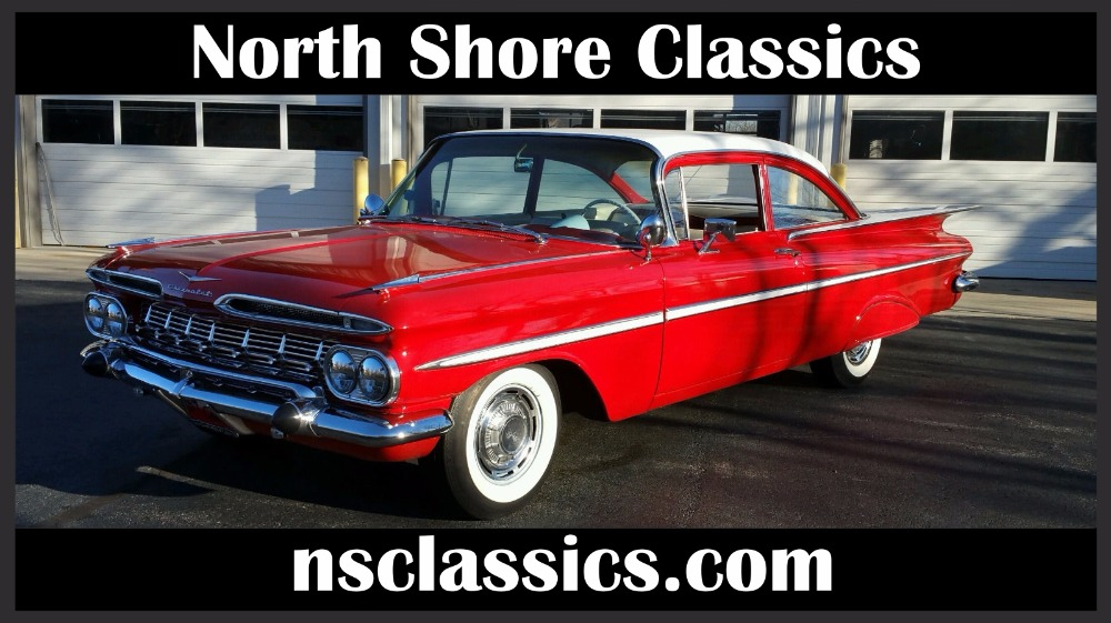 Used 1959 Chevrolet Bel Air WORKING AC-VERY WELL MAINTAINED & RESTORED - RARE CAR-GREAT CONDITION | Mundelein, IL