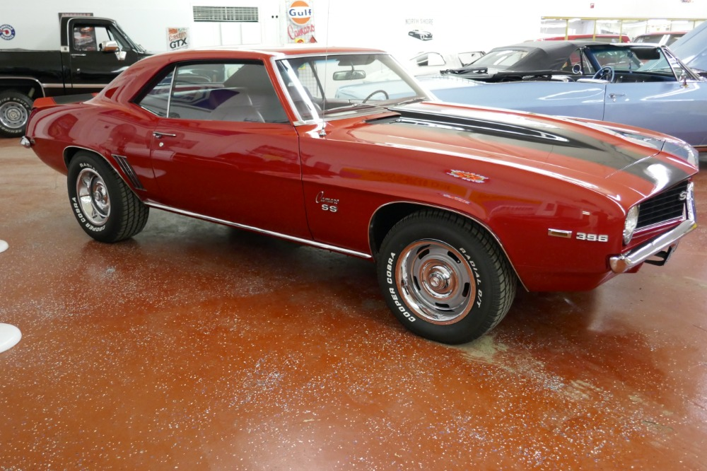 Used 1969 Chevrolet Camaro -TRUE SS396 REAL CODE 72-NUMBERS MATCH-FACTORY 4 SPEED-SEE VIDEO | Mundelein, IL