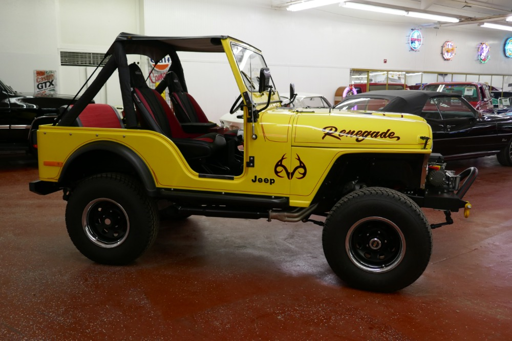 Used 1978 Jeep Renegade -4X4 FRESH FRAME OFF RESTORED CJ4-LIKE NEW BUILT-SHOW TRUCK-SEE VIDEO | Mundelein, IL