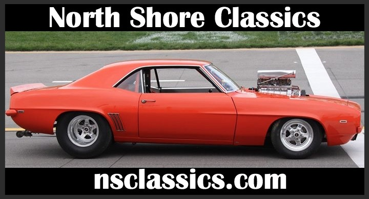 Used 1969 Chevrolet Camaro - PRO STREET-BIG TIRE CAR-SUPERCHARGED POWER- SEE VIDEO | Mundelein, IL