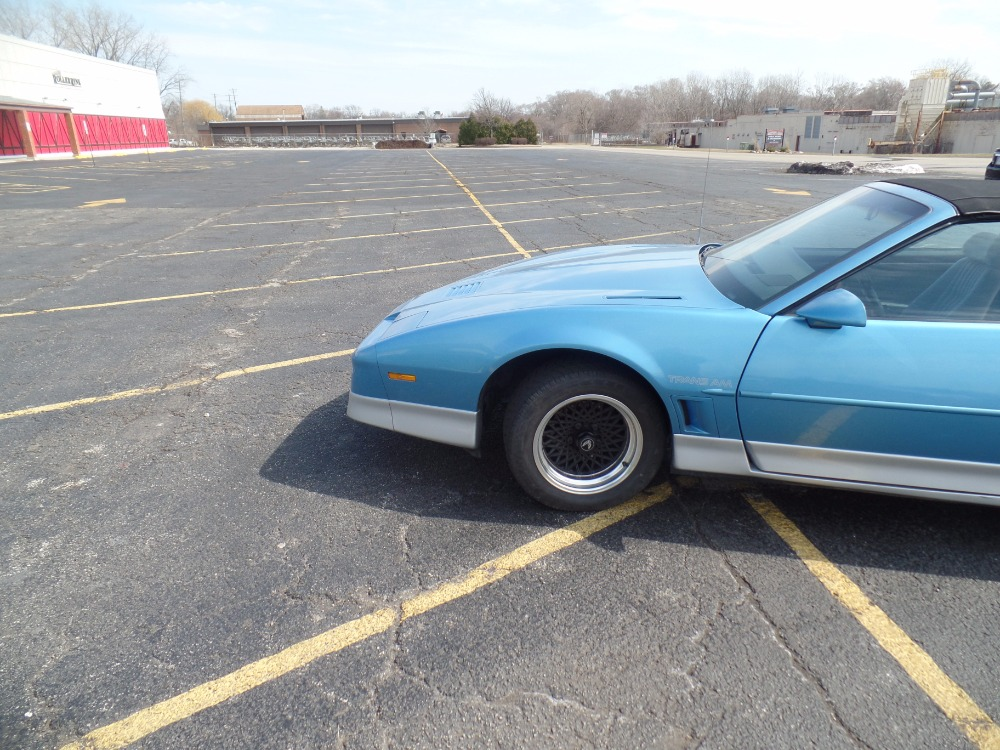 Used 1988 Pontiac Firebird -TRANS AM -LIGHT BLUE CONVERTIBLE-ONLY43,000 MILES-WITH 5 SPEED TRANS- | Mundelein, IL