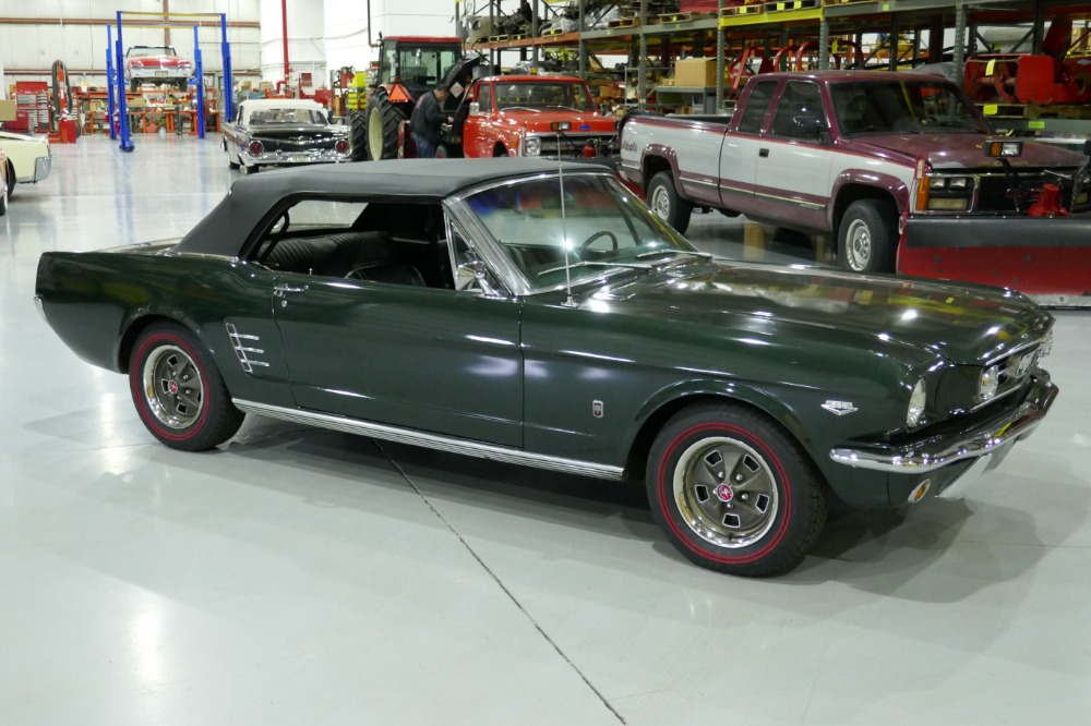 1966 Ford Mustang GTHIGH PERFORMANCE CONVERTIBLEFACTORY 4 SPEED