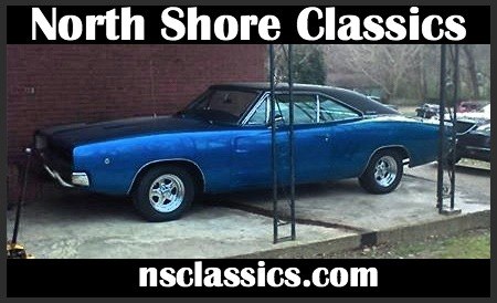 Used 1968 Dodge Charger -R/T CLONE-BIG BLOCK 440-VIPER BLUE-H PIPE EXHAUST- | Mundelein, IL