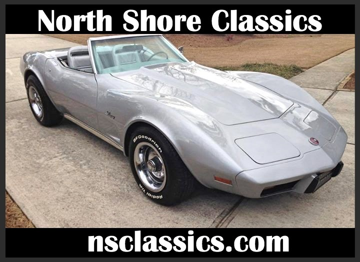 Used 1975 Chevrolet Corvette CONVERTIBLE-LAST YEAR FOR THE C3-RARE COLOR COMBO- | Mundelein, IL