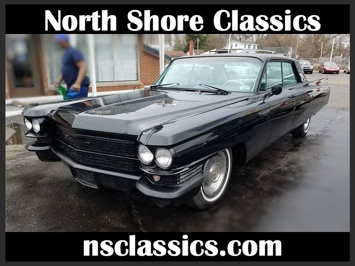 Used 1963 Cadillac Coupe DeVille -COMPLETELY RESTORED- BLACK ON BLACK CADDY-   Mundelein, IL