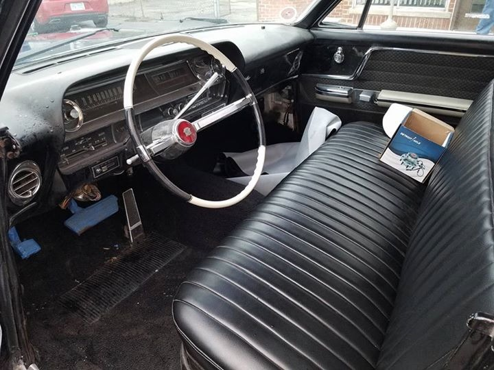 Used 1963 Cadillac Coupe DeVille -COMPLETELY RESTORED- BLACK ON BLACK CADDY- | Mundelein, IL