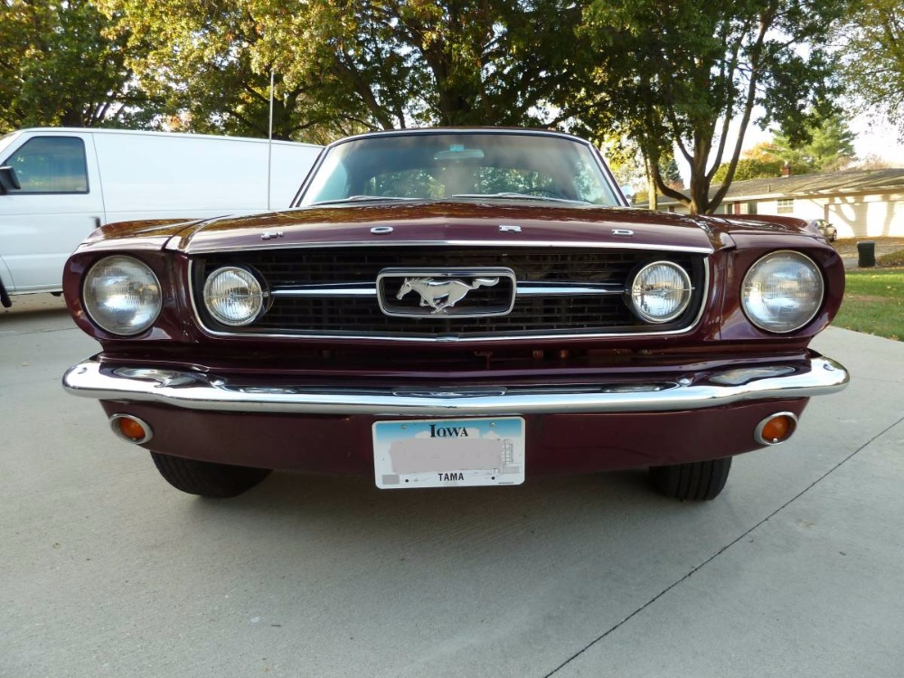 1966 Ford Mustang 22 GT RARE PONY 4SPEED AC CAR DELUXE