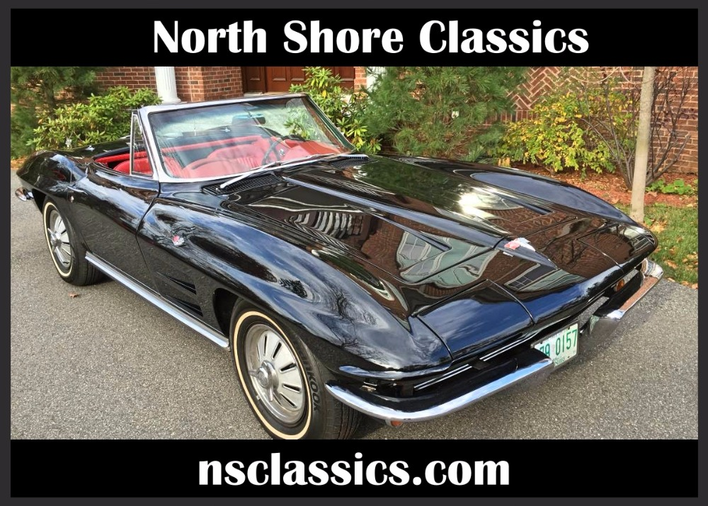Used 1964 Chevrolet Corvette NUMBERS MATCHING-4SPEED-V8-STINGRAY ROADSTER- | Mundelein, IL