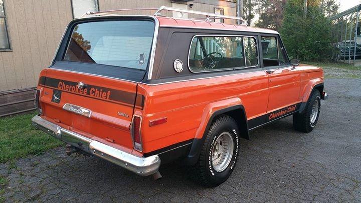 1977 Jeep Cherokee -CHIEF - 4X4- FRESH 360- V8- RARE Stock