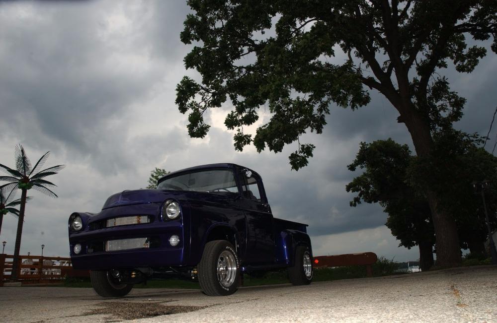 Used 1957 Dodge 100 -STEPSIDE-TWIN 625 EDELBROCK CARBS-TORQUE FLIGHT 727- | Mundelein, IL