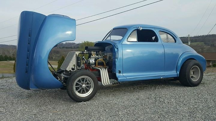 1941 Chevrolet Hot Rod / Street Rod - GASSER- BUILT DRAG CAR- STREET