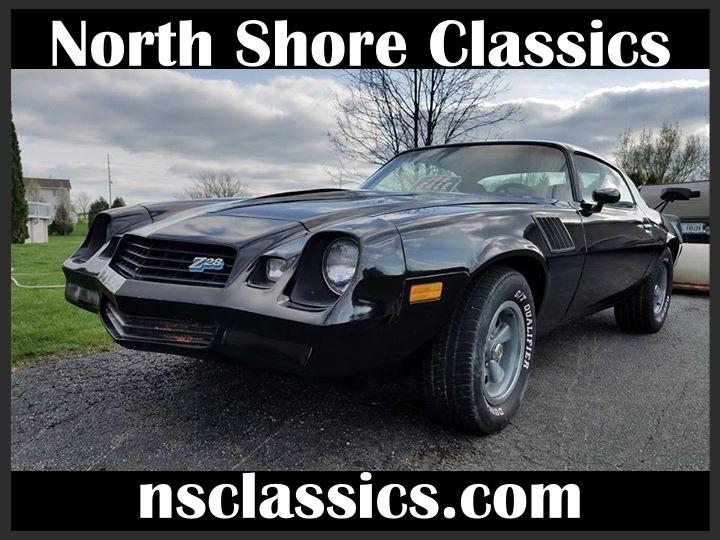 Used 1978 Chevrolet Camaro -Z28- BUILD SHEET- 4-SPEED | Mundelein, IL