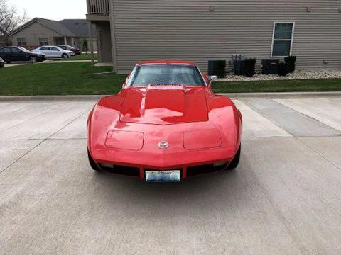 Used 1973 Chevrolet Corvette -4 SPEED MANUAL- 350 V8 - T-TOPS- | Mundelein, IL