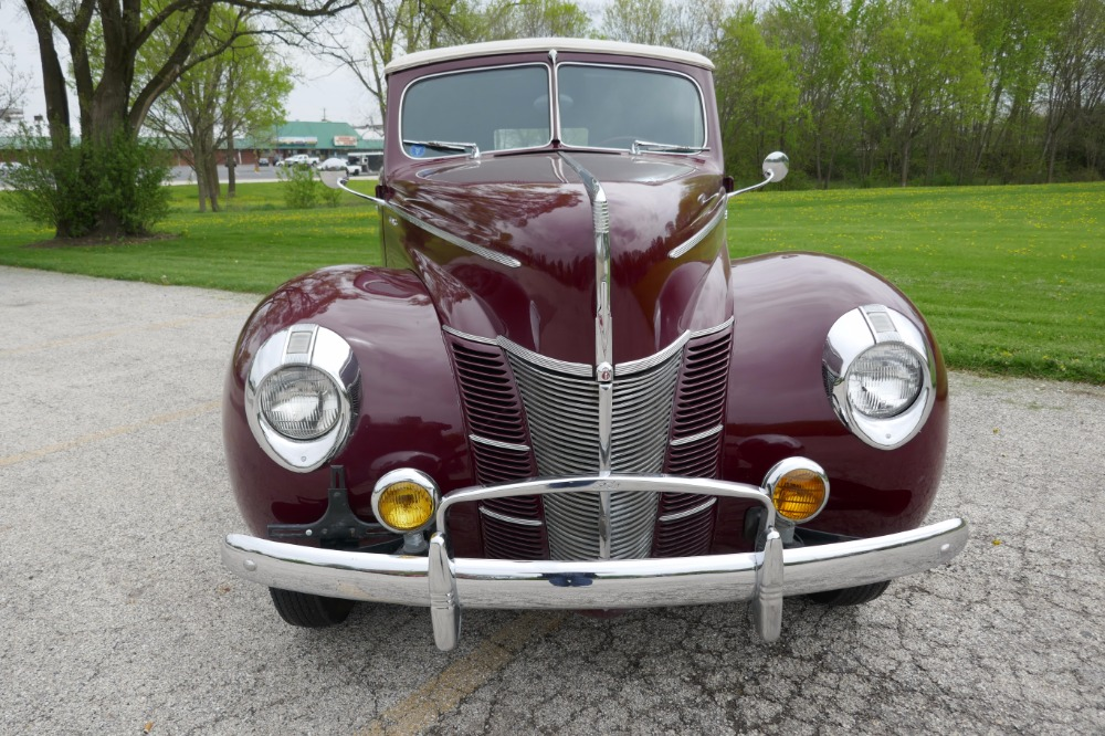 Used 1940 Ford Hot Rod / Street Rod -NUMBERS MATCHING- ORIGINAL CONVERTIBLE SURVIVOR-SEE VIDEO | Mundelein, IL
