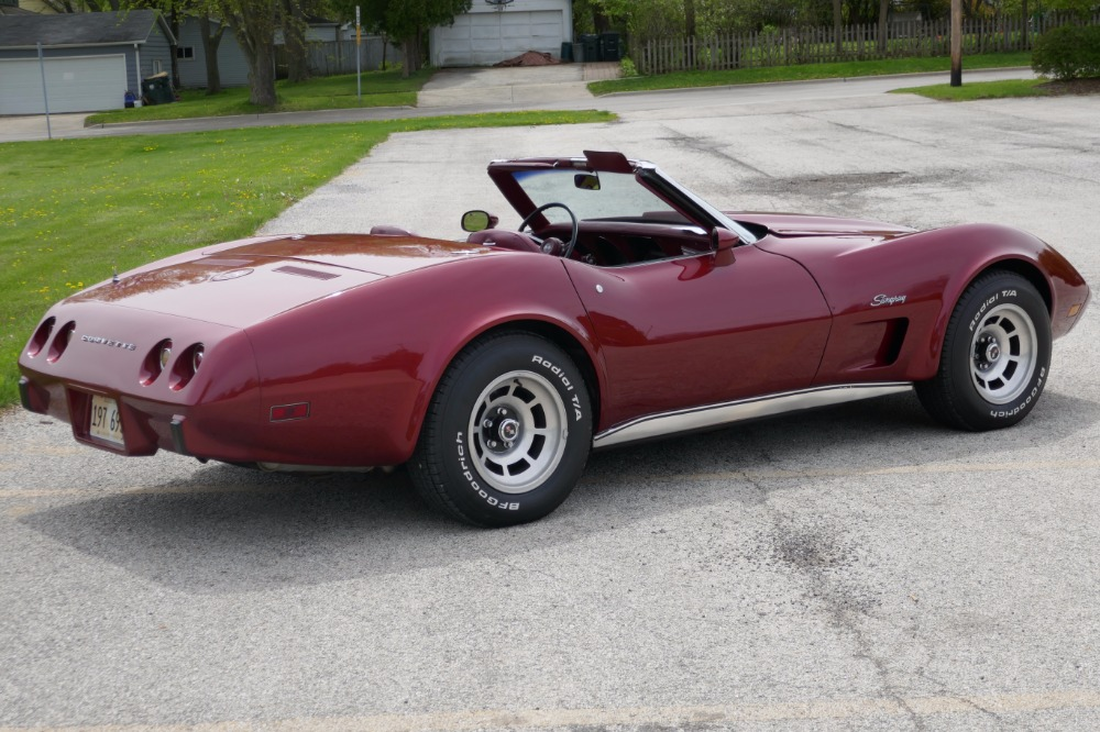 Used 1975 Chevrolet Corvette -PRICE DROP-ORIGINAL-350/350 AUTOMATIC CONVERTIBLE STINGRAY-SEE VIDEO | Mundelein, IL