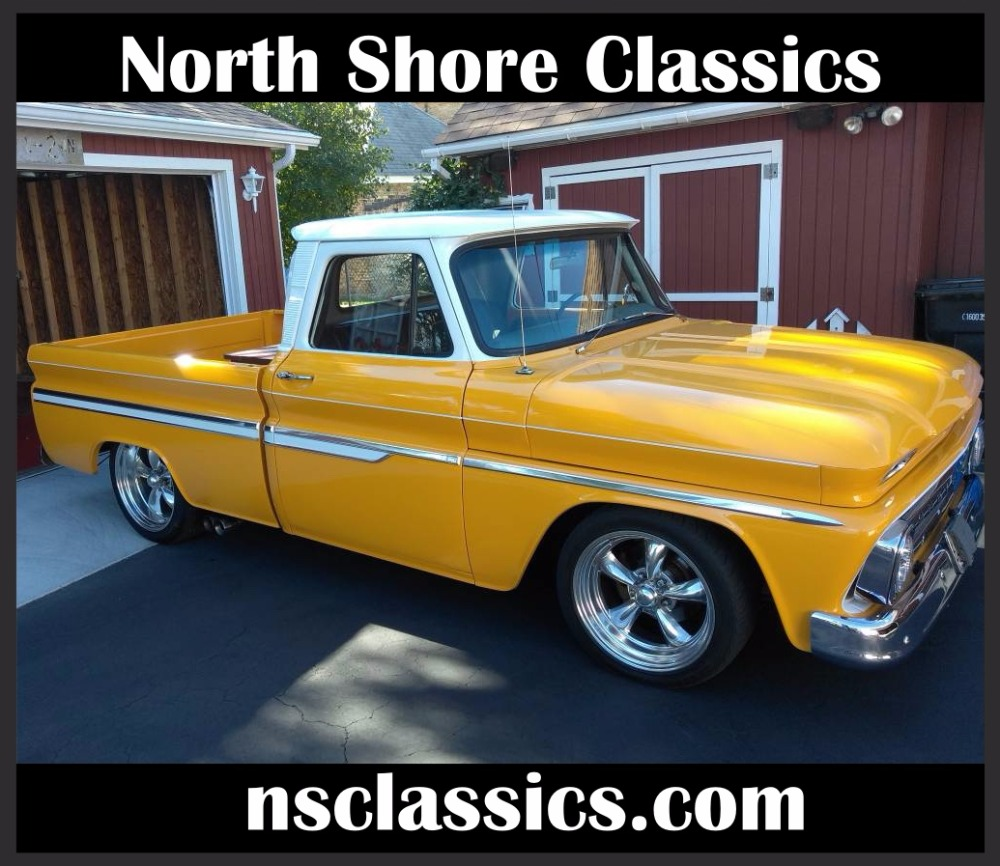 1964 Chevrolet C10 -NICE WOOD BED WITH CUSTOM BOX- 4SPEED- Stock ...