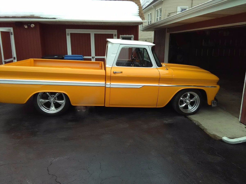 Used 1964 Chevrolet C10 -NICE WOOD BED WITH CUSTOM BOX- 4SPEED-   Mundelein, IL