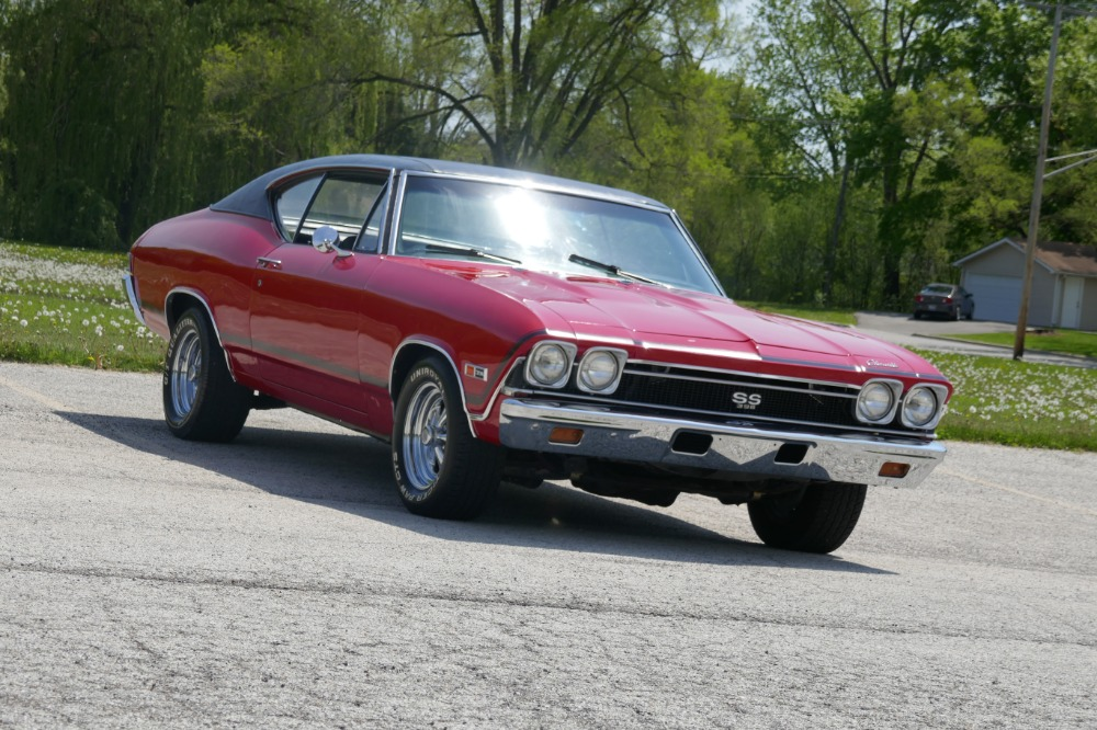 Used 1968 Chevrolet Chevelle -SS396 FRAME OFF RESTO-TRIBUTE-FIRE RED PAINT-SOLID ARIZONA-SEE VIDEO- | Mundelein, IL