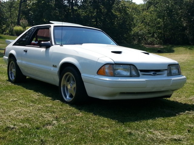 1990 ford mustang lx twin turbo stock 2736013 for sale near mundelein il il ford dealer. Black Bedroom Furniture Sets. Home Design Ideas