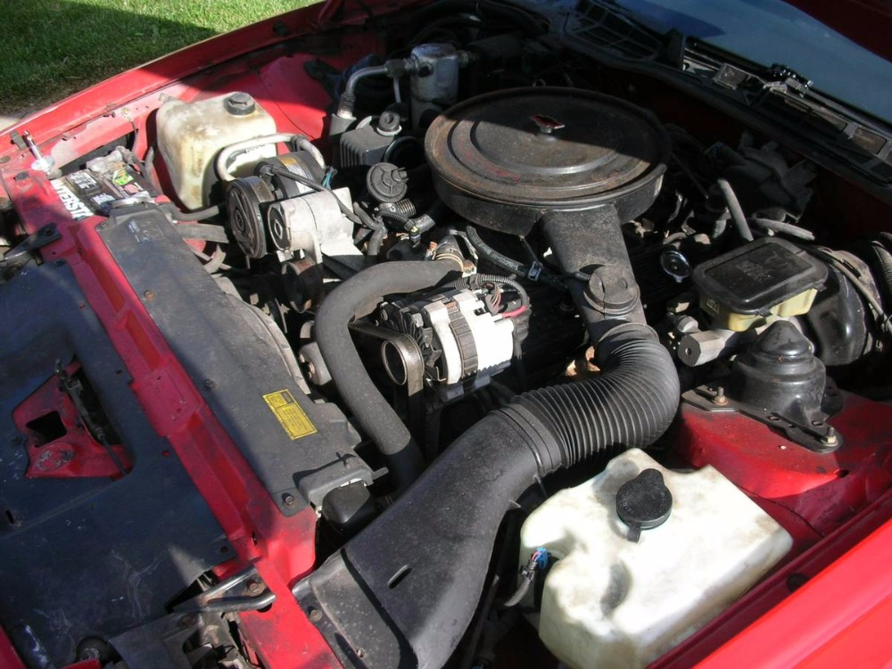 1988 Chevrolet Camaro Iroc Z28 Fuel Injected 5 7 L V8