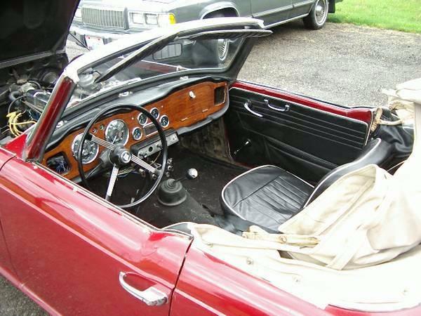 Used 1965 Triumph TR4 -CONVERTIBLE ROADSTER- | Mundelein, IL