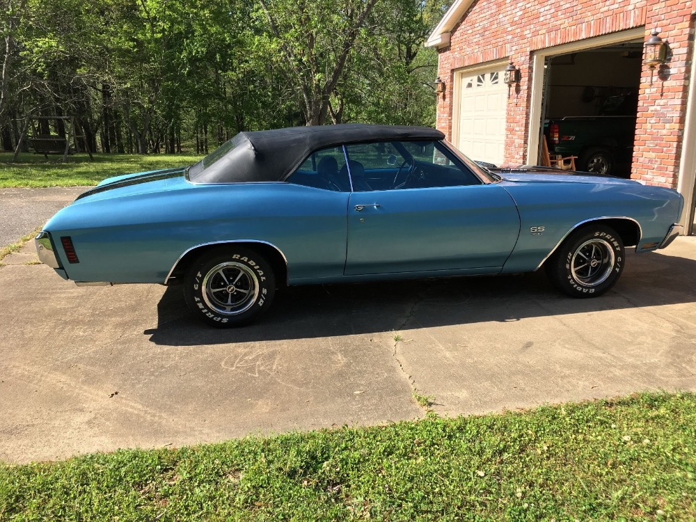 Used 1970 Chevrolet Chevelle -SS396 BIG BLOCK-4 SPEED-CONVERTIBLE-VERY LOW PRODUCTION-VIDEO COMING SOON- | Mundelein, IL