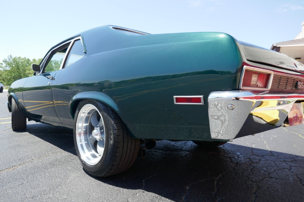 Used 1972 Chevrolet Nova -BUILT STROKER ENGINE-NEWER EMERALD GREEN PAINT-SEE VIDEO | Mundelein, IL
