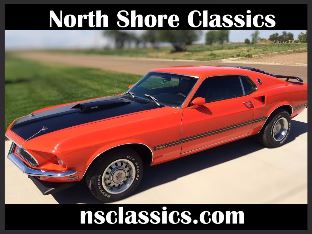 1969 Ford Mustang -MACH 1-TWO OWNER-351 WINSOR-H-CODE-MUSCLE CAR ...