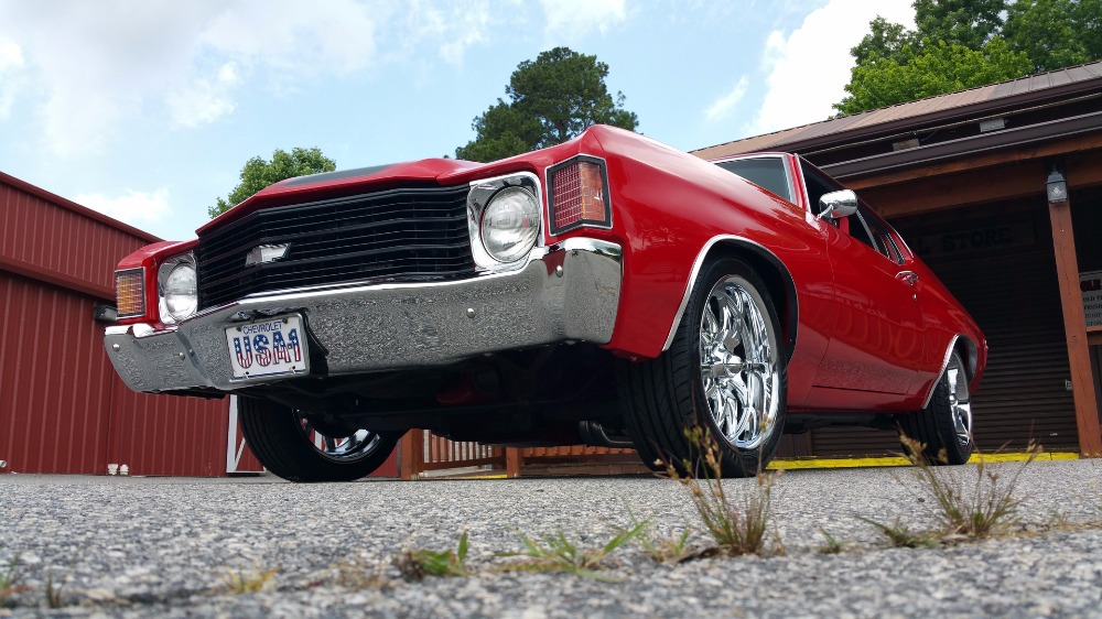 Used 1972 Chevrolet Chevelle -STUNNING VICTORY RED MUSCLE CAR- 355CI/ AUTOMATIC- | Mundelein, IL