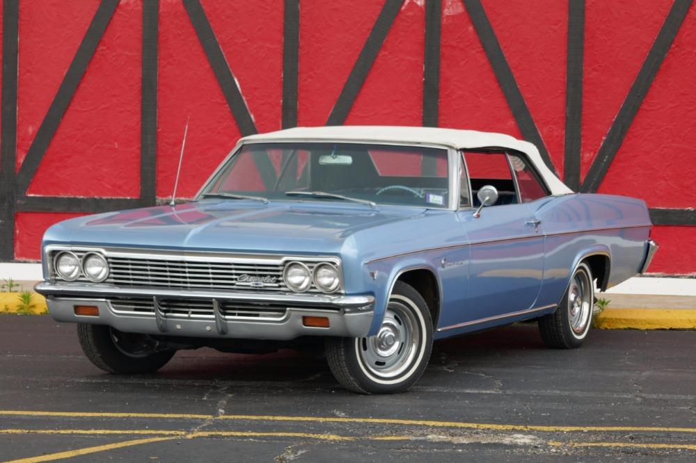 1966 Chevrolet Impala -SUPER CLEAN SOUTHERN CONVERTIBLE-TRUE CLASSIC ...