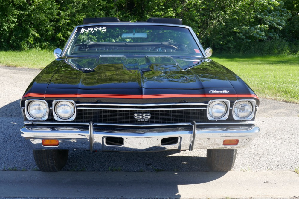 Used 1968 Chevrolet Chevelle -REAL SUPER SPORT-MAINTAINED CONVERTIBLE-4-SPEED-SEE VIDEO | Mundelein, IL
