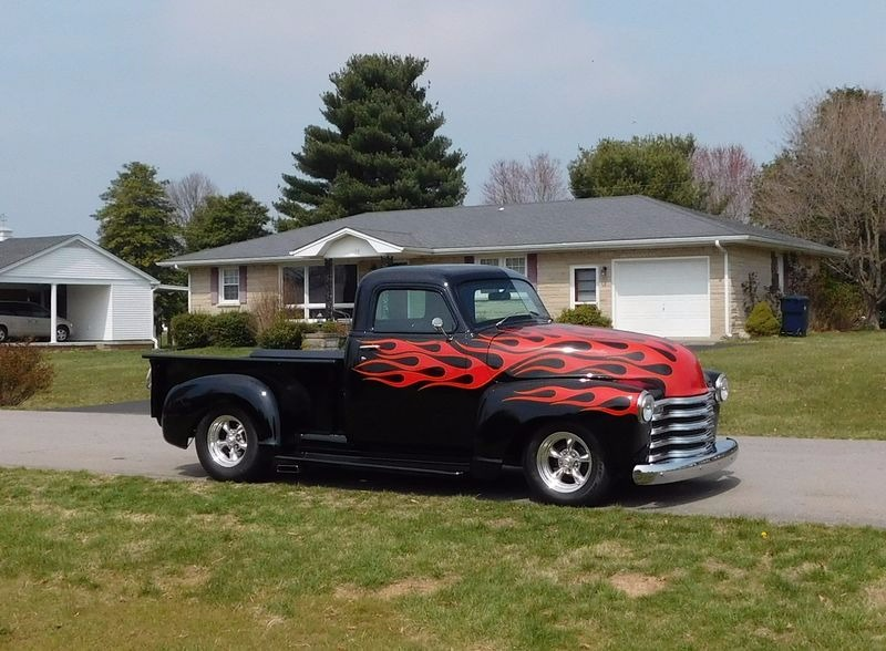 Used 1947 Chevrolet 3100 -FUEL INJECTED-HOT ROD PICKUP WITH MELLOW CHOP- | Mundelein, IL